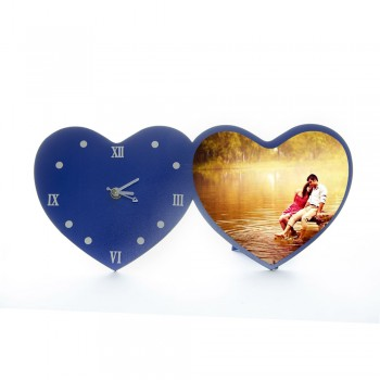 Heart Table Clock